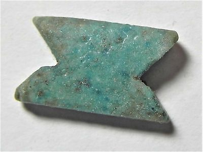 Zurqieh -Af1492- Ancient Egypt , Faience Eye Of Horus Amulet. 600 - 300 B.c
