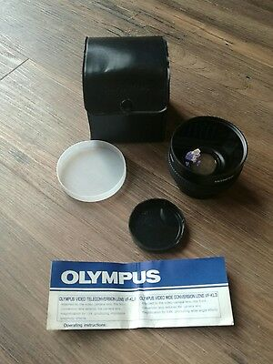 OLYMPUS VF-KL3 Wide Conversion Lens 0.6X with Both Caps(In Case) FREE POST