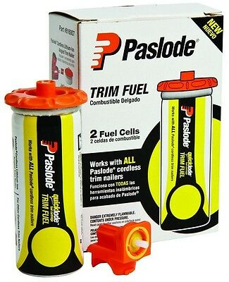 Paslode Trim Yellow Fuel Cells Cordless Trim Nailers Accessories Univesal 2 Pack
