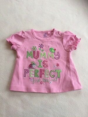 Baby Girls Clothes 0-3 Months - Pretty Mummy T Shirt Top