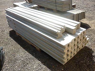 Concrete Sloted Fence Posts 9Ft