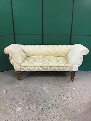Antique Victorian Scroll End Sofa Ready To Use