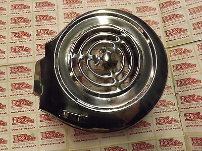 Lambretta S3 & Gp, Sx Style Stainless Steel Flywheel Cowling & Bolts , Long Fin