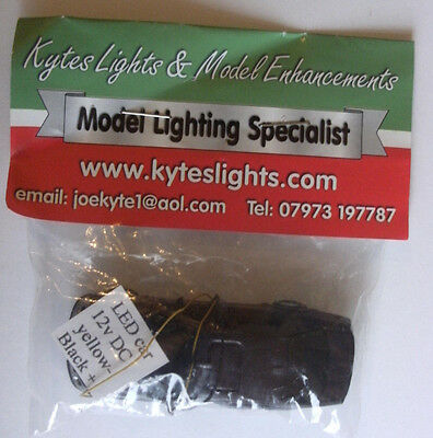 Model Trail Railway Accessories Kytes Lights 12v LED Model Car For Layouts Brown