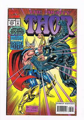 Thor # 476 Whom the Destroyer Would Destroy ! grade - 6.0 scarce book !!