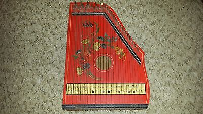 VINTAGE OLD MUSIMA MARKNEUKIRCHEN MADE IN GERMANY 1960-70's ZITHER 33 STRINGS