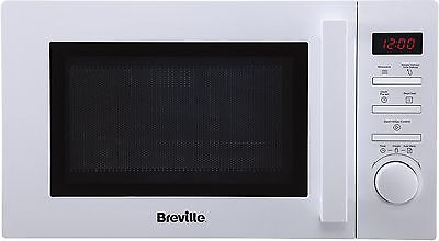 NEW Breville BRSMWP1716 Solo Microwave with 6 Power Levels 17L 700W - White