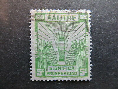 A3P25 Chile Salitre 1930 5c used #27