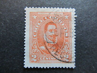 A3P24 Chile 1911 2c used #13
