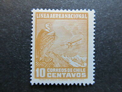 A3P25 Chile Air Post Stamp 1931 10c mh* #24