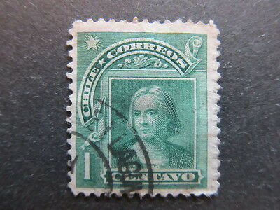 A3P24 Chile 1905-09 1c used #6