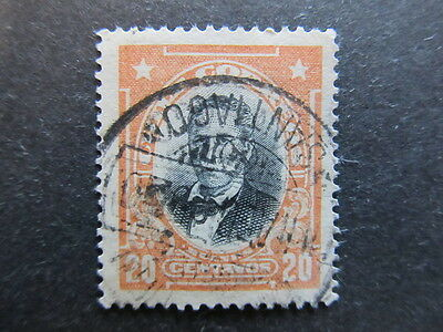 A3P24 Chile 1915-25 20c Perf. 13 1/2x 14 1/2 used #16