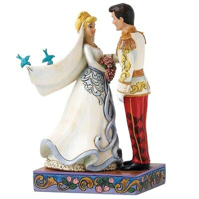 Disney Traditions Happily Ever After Cinderella & Prince Figurine - Official