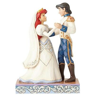 Disney Traditions The Little Mermaid Wedding Bliss Ariel & Prince Eric Figurine