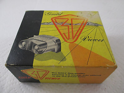3-D Viewer, Vintage Craftsman Guild Of Hollywood In Box Very Very Clean