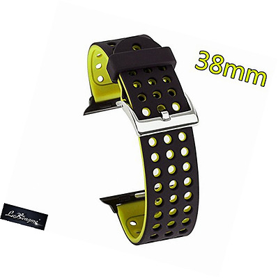 Lwsengme Silicone Sport Wris Strap Band with Adjustable Buckle & Quick Release