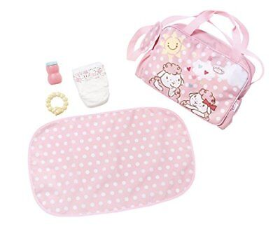 Baby Annabell Baby Changing Bag & Mat 5 Piece Toy Playset For Dolls