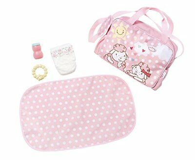 New Zapf Creation Baby Annabell Changing Bag 5-Piece Playset