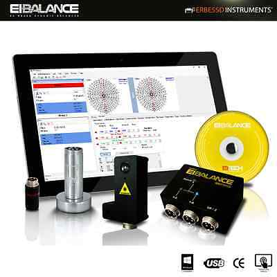 DYNAMIC BALANCER, Portable Balancing Machine Erbessd Reliability Instrument​s