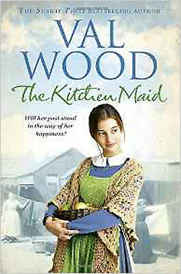 The Kitchen Maid, New, Wood, Val Book
