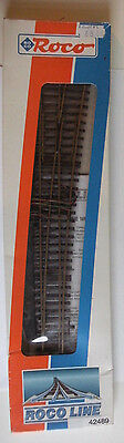 Model Train Railway Supplies - Roco WR10 42489 Point Track With Fitted Motor