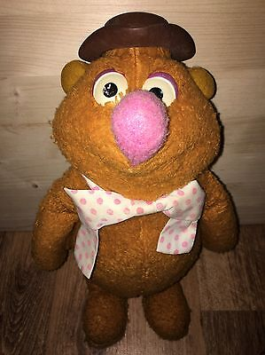 Vintage Fisher Price Toys Fozzie Bear Plush Soft Toy The Muppets 1970s