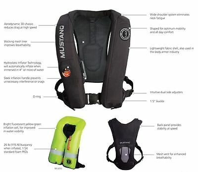 Mustang Elite Inflatable PFD MD5183 (RED)