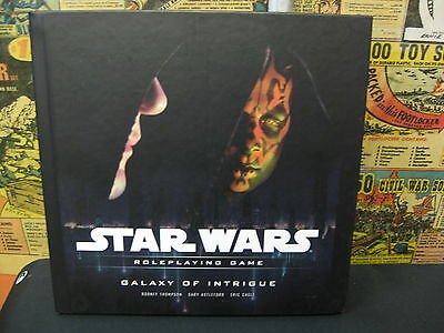 Star Wars Saga Roleplaying Game Galaxy of Intrigue RPG D20 WotC Excellent