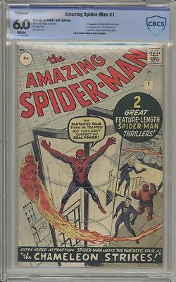 AMAZING SPIDER-MAN 1 - CBCS 6.0 Trimmed UK Edition - First Issue - Marvel Comics