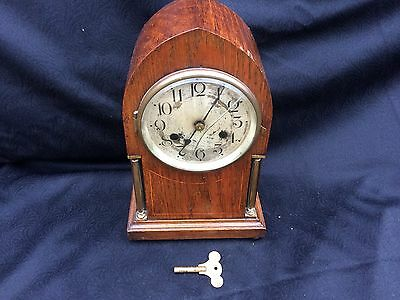 Antique striking mantle clock all working