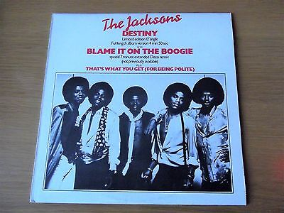 """The Jacksons - Blame It On The Boogie  1978 - Orig Disco - Nm 12""""  Listen!!"""