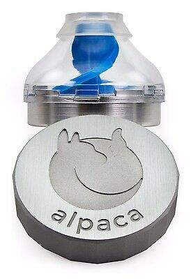 Alpaca Grinder & Dispenser - Instantly Loads Herbs - NEW - FREE SHIPPING