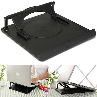 Popular Laptop Holder Cooling 360° Rotation Stand Mount Table Swivel Tray 3O