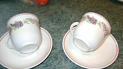 New Boots Orchards Two Cups And Saucers