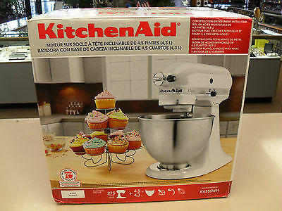 Kitchenaid Classic Series 45 Quart Tilt Head Stand Mixer kitchenaid k45ss classic 250w stand mixer • $130.50 - picclick