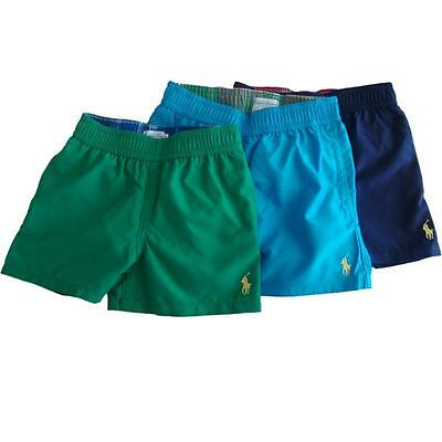 Authentic Ralph Lauren Polo Baby boys swim surf trunks age 12 ,18, 24 mths