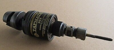 Tapmatic 20X Tapping Head Attachment, Max Tap Capacity 1/4 M7, W/ Quick Change A