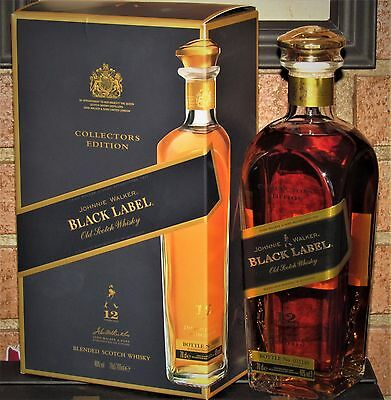 1 x Wky. JOHNNIE WALKER ♦ COLLECTORS EDITION ♦ 70 cl.; 40º, NUMBERED BOTTLE