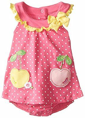 Romper Baby Girls Bodysuit Jumpsuit Newborn Clothes Summer Dress Size 3 6 9M New