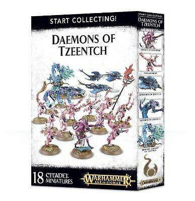 Warhammer Age of Sigmar Fantasy Start Collecting Daemons of Tzeentch
