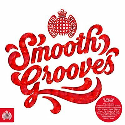 Smooth Grooves - Ministry of Sound [CD] Sent Sameday*