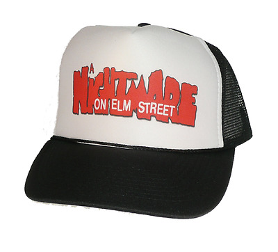 A Nightmare on Elm Street movie hat Trucker Hat mesh back adjustable New black