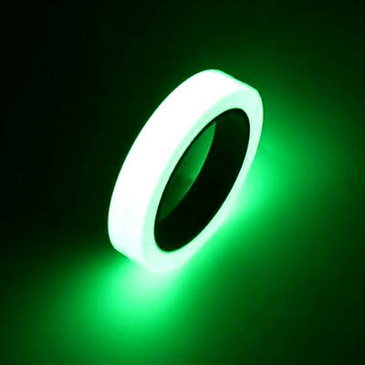 10M Luminous Photoluminescent Egress Tape Glow In The Dark Stage Home Safety Mar
