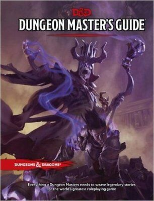 RPG - D&D Dungeons and Dragons Dungeon Masters Guide  5th Edition NEW!