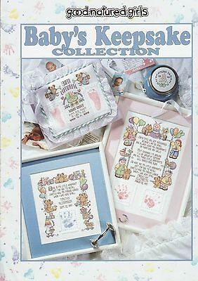 CROSS STITCH BOOK  -  'Baby's Keepsake Collection'
