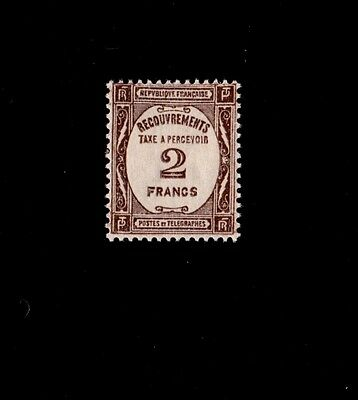 FRANCE ** TIMBRE-TAXE n° 62 / MNH / TTBE