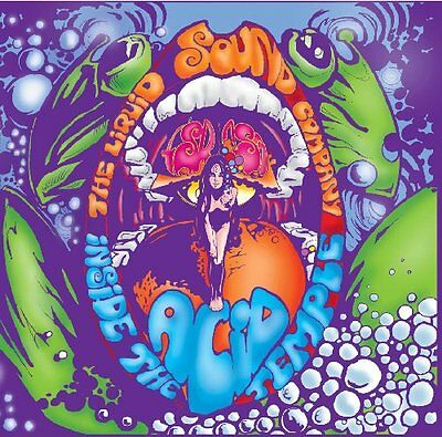 LIQUID SOUND COMPANY - Inside The Acid Temple - LP (splatter vinyl, 180 g) Nason