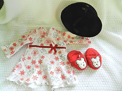 American girl doll clothing , riding hat and slippers,very nice condition