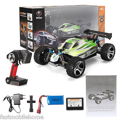 WLtoys RC Car A959-B 1/18 4WD Off-road Vehicle 2.4G 540 Brushed Motor High Speed