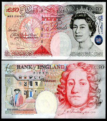 Great Britain 50 Pounds England 2006 A. Bailey P 388 Unc